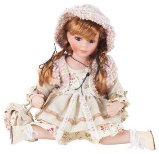 """Păpuşă de porţelan """"Rachel"""" - cadou decorativ adorat de copii şi adulţi deopotrivă căci, nu-i aşa, nostalgia e-un lucru greu de vindecat. http://www.retroboutique.ro/decoratiuni/alte-decoratiuni/papusa-de-portelan-rachel-1523"""