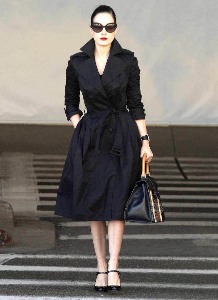 I need a full skirted trench. Not black though.