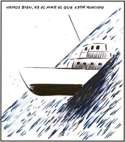 Resultado de imagen de El Roto sobre el mar