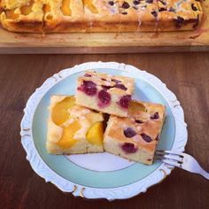 LanisLeckerEcke: Saure-Sahne-Obst-Kuchen vom Blech