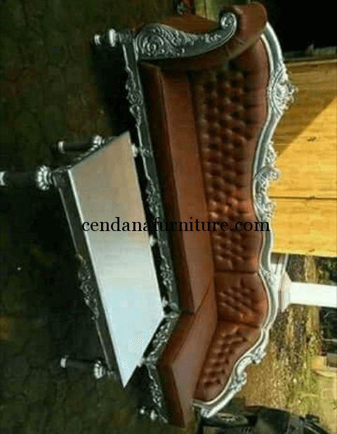 Kursi Sofa Ruang Tamu Sudut Luxurious