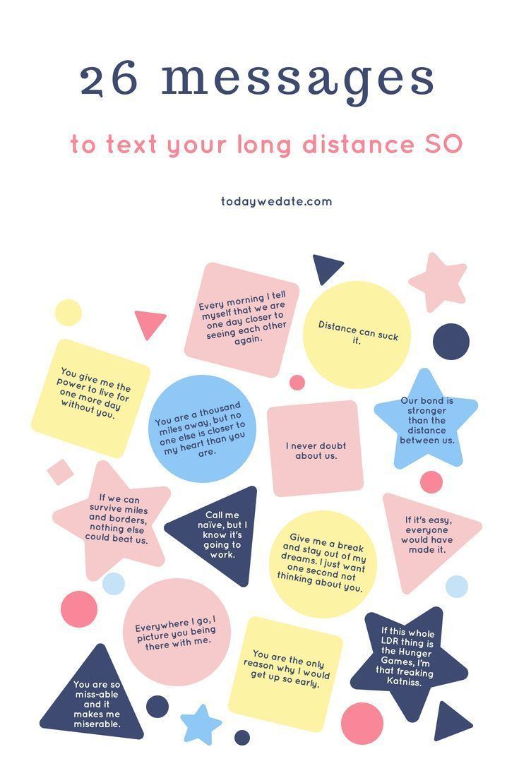 how do u make a long distance relationship work