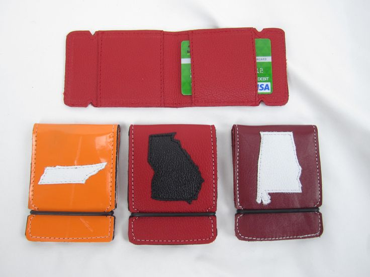 New Sunfish state leather cash covers. These are only $44.99 Great for college football fans. Call 888-550-3025 to order yours today. The hold cash and over 10 credit cards