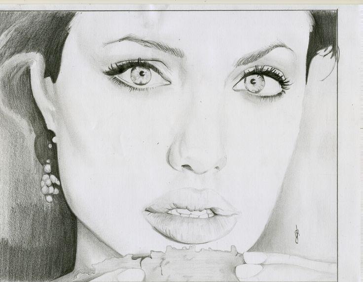 Retrato Angelina Jolie