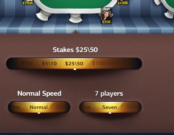 PokerPros by Anna Chuyko, via Behance