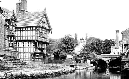 Bridgewater Canal, The Packet House 1889, Worsley ~ again, not much has changed (see this more modern pic for comparison ~ http://pinterest.com/pin/110619734567291008/)