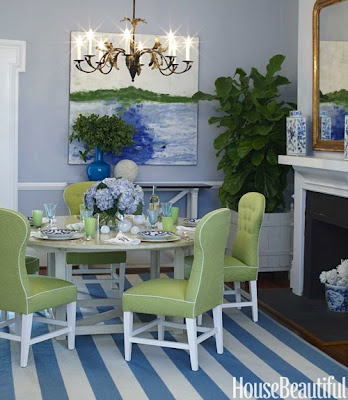LOVE FOR THE LAKEDining Rooms, Colors Combos, Beach House, Architecture Interiors, Bluegreen, Blue Green, Interiors Design, Coastal Room, Dining Room Wall