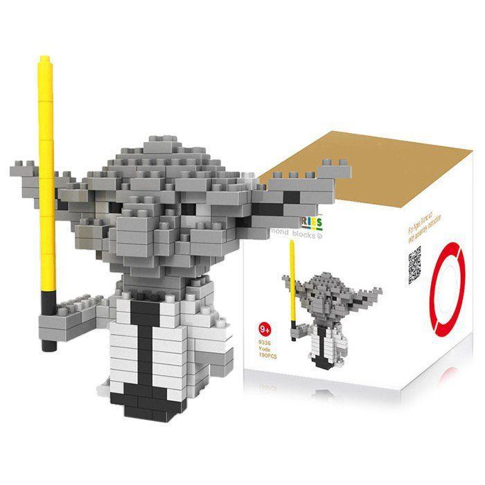 LOZ 190 Pcs Building Star Wars Master Yoda Block Educational Kid Toy M - 9336... £2.17