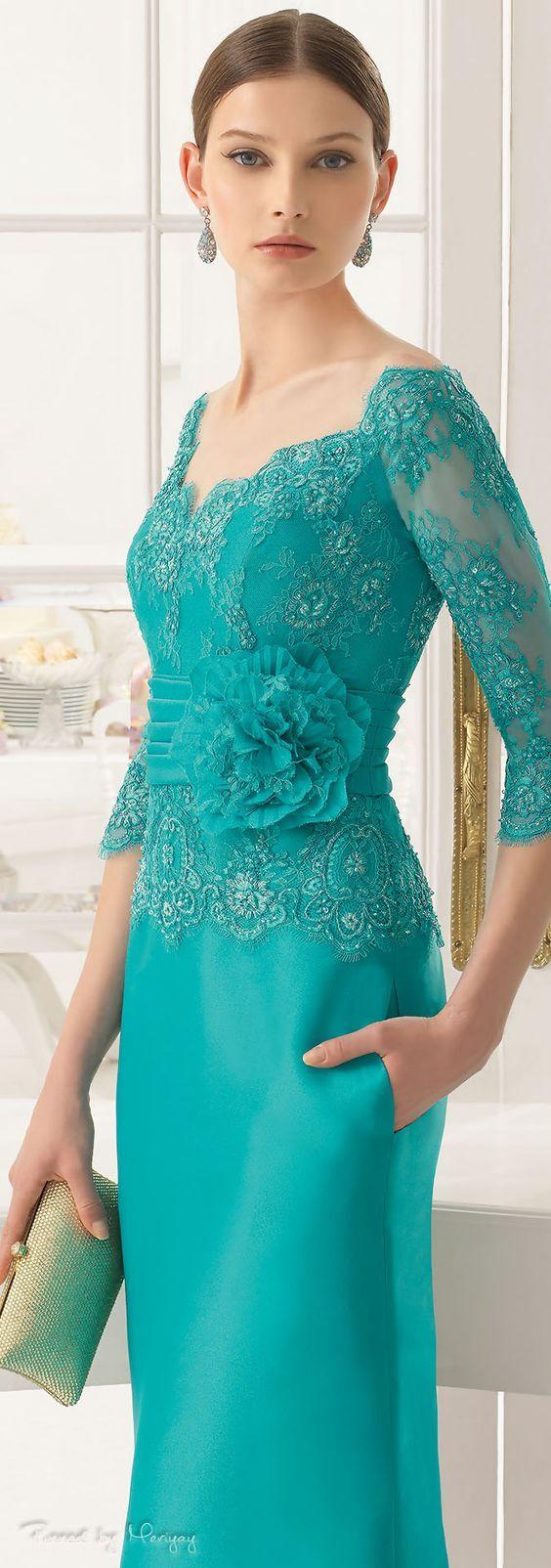 Aire Barcelona.2015.  Este vestido en particular es demasiado elegante para la boda de Shelby, pero creo que es precioso, así que estoy guardando en caso de que un día, cuando Ryan se casa si es formal .: