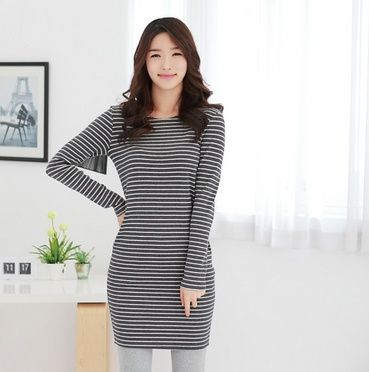 A MUST HAVE stripes dress! see more on thehallyu.com