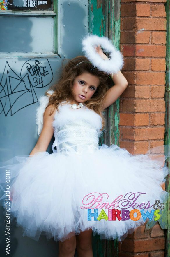 angel tutu dress christmas tutu dress