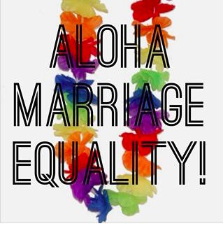 Marriage equality passed in Hawaii!! Yay! Image by Equality NC