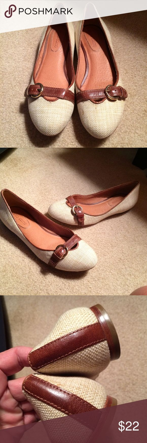 Corso  Como Beige Ballet Flats. Sz 7 Excellent Condition Sz 7. Beige & Tan. Leather Corso Como Shoes Flats & Loafers