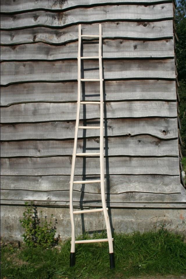 Greenwood ladder by Stickman