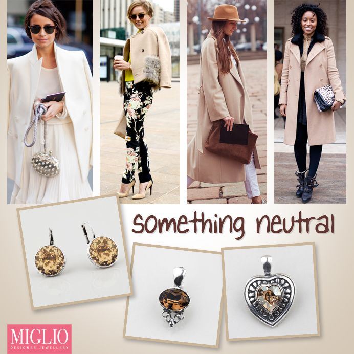 #swarovski #neutral shades - the #musthave wordrobe item! www.miglio.com