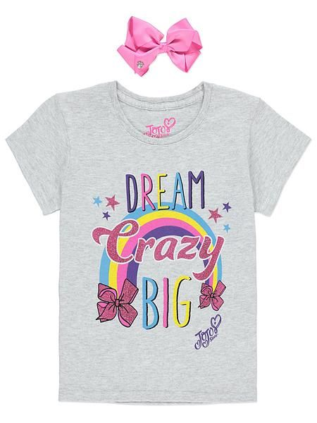 71c278fd0e1a1 Jojo Siwa T Shirt with Bow