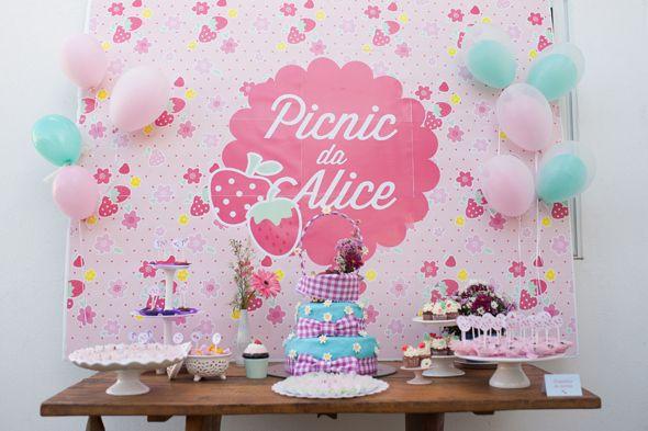 aniversario DIY tema picnic alice blog vittamina tema para festa de 1 ano tema para aniversario de menina