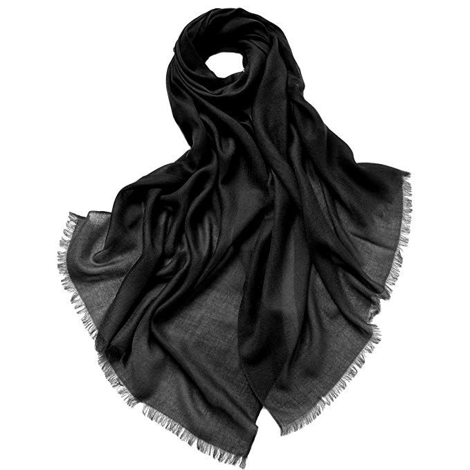 SF-1815 C.C Exclusives Chenille Soft Super Chunky Thick Long Big Large Cowl Fringe Scarf