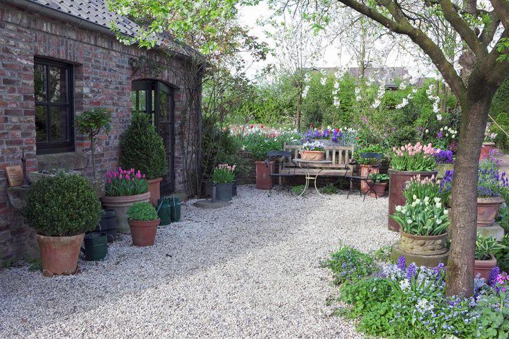Gartengestaltung mit Kies und Splitt