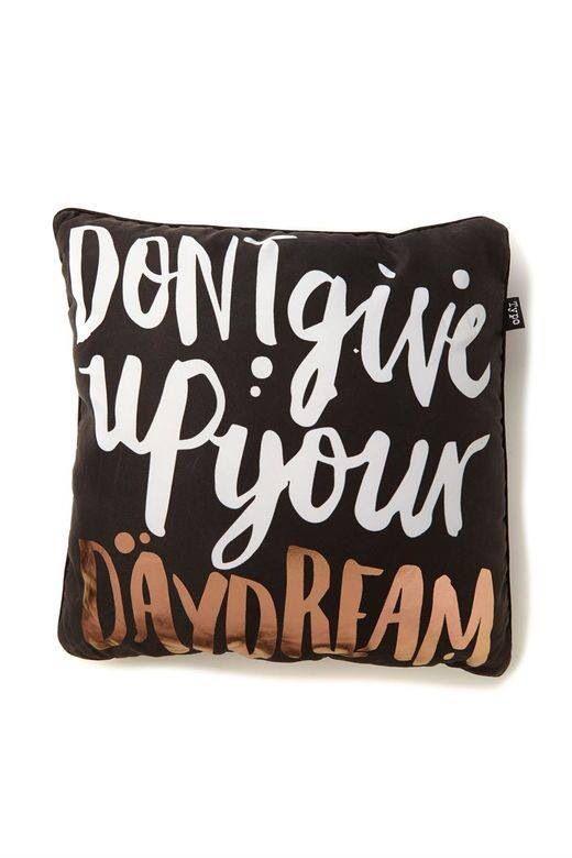 Typo pillow