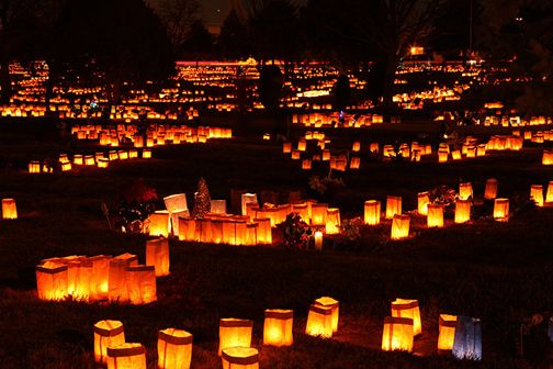 Luminarias Are A New Mexico Favorite And Taos Becomes As