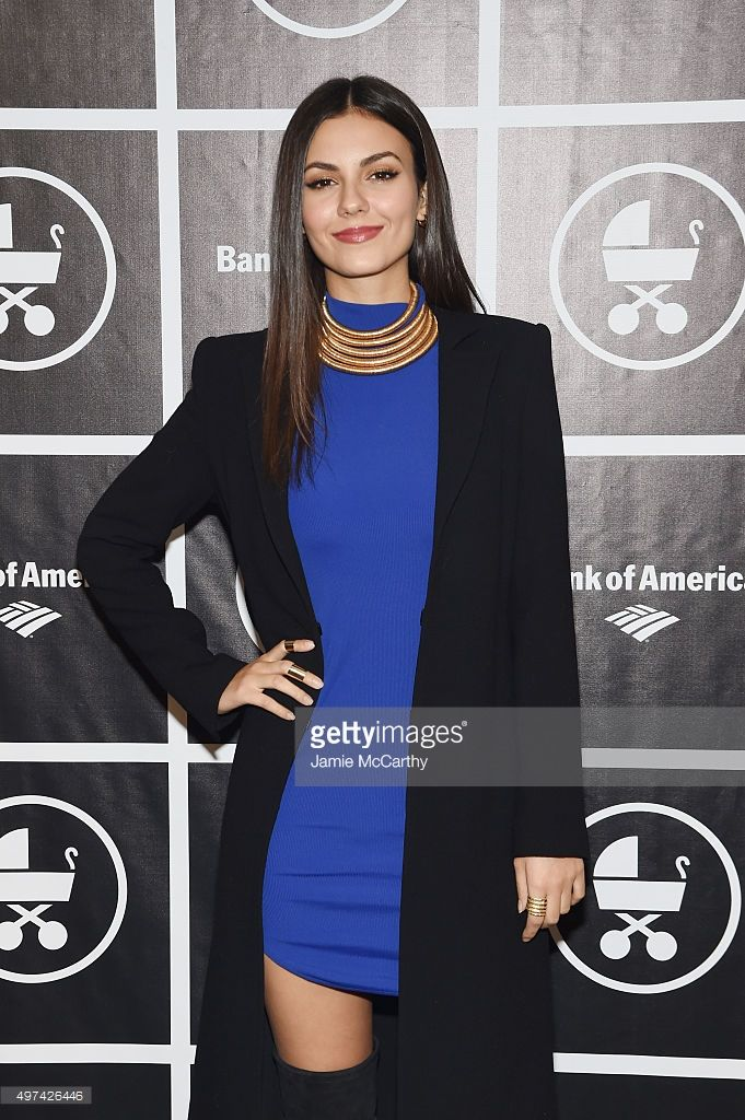 Actress Victoria Justice attends as Baby Buggy celebrates 15 years with 'An Evening with Jerry Seinfeld and Amy Schumer' presented by Bank of America - Arrivals at Beacon Theatre on November 16, 2015 in New York City.