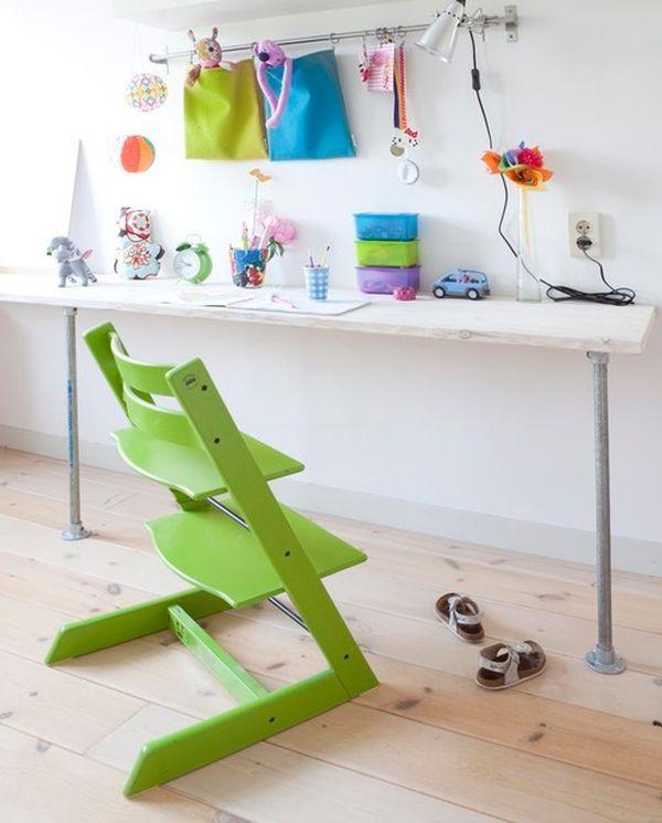 Stokke Tripp Trapp chair in green