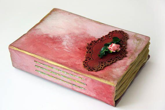 mother's day gift handmade journal for momgift for