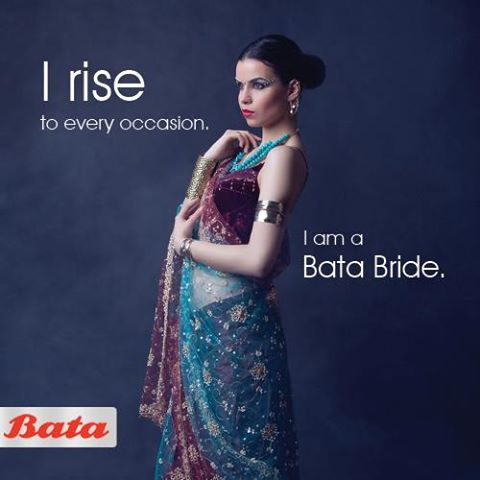 Just put on your Bata wedding shoes and shine. Be the perfect #BataBride. #BataWeddingFever