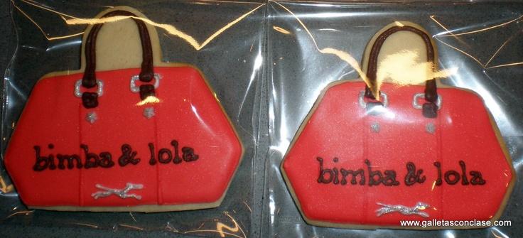 Galletas personalizadas. Bimba & Lola para regalar. Todo un detallazo :) muy ricas!