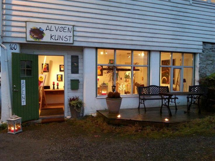 Gallery Alvøen kunst. Bergen - Norway
