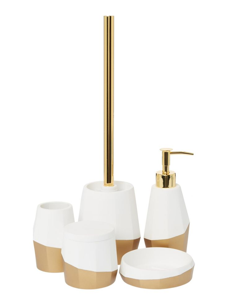 living by christiane lemieux dipped gold bathroom accessory range house of fraser
