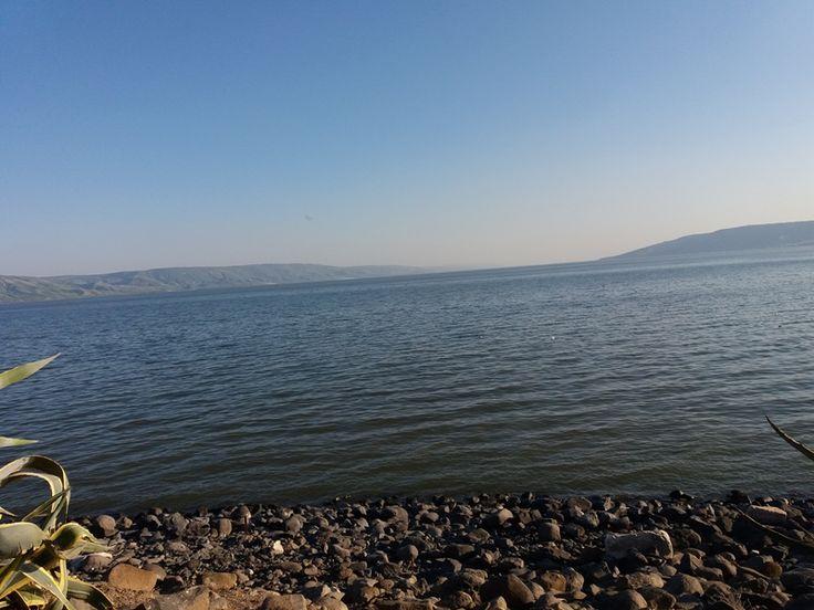 Marea Galileei vedere de la Sinagoga
