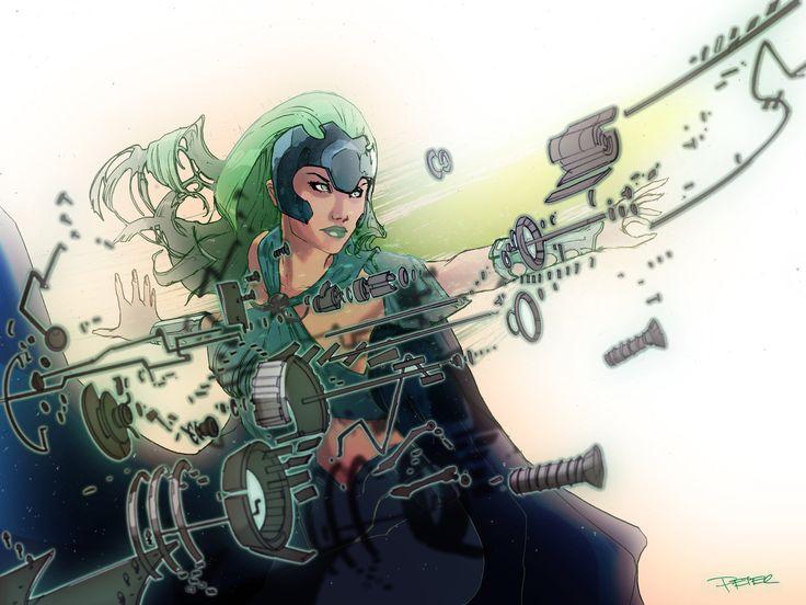 Polaris, Mistress of Magnetism