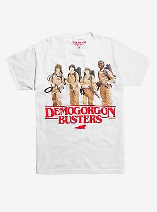 27daf5f6 Stranger Things Demogorgon Busters T-Shirt, WHITE #StrangerThings #Stranger  #Things