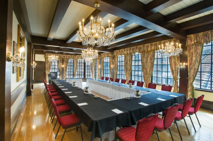 The Benefits To Off-Site Meetings | Old Mill - Toronto Hotel