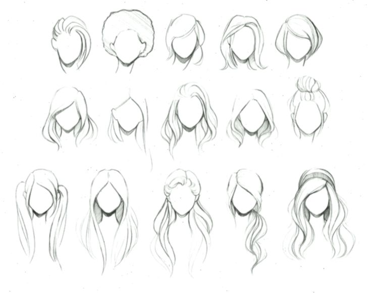 Seven Ways Cute Easy Hairstyles Drawings Can Improve Your Business Cute Easy H Hairstyles Business Cute Drawings Hair Sketch How To Draw Hair Anime Hair