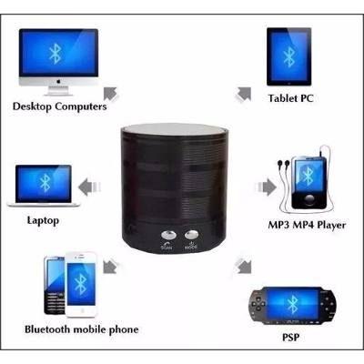 Caixa De Som Bluetooth Ws887 Speaker Ipad, Iphone, Android - R$ 19,88 em Mercado Livre