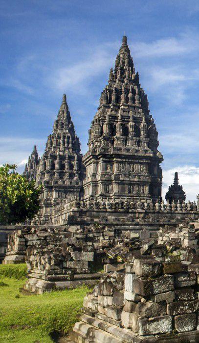 Prambanan temple in Java, Indonesia. Not far from Yogyakarta