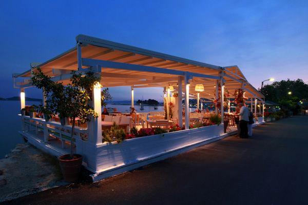 En Plo restaurant, Skiathos. Greece.