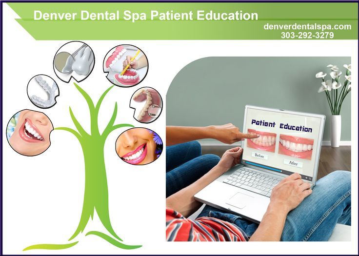 Denver dental spa is giving patient education for the awareness of dental problems which will occur for the various reasons. And also for the regular precautions for the children and adults.