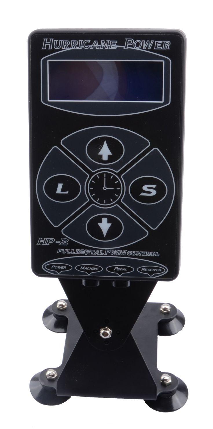 Professional Tattoo Power Supply Hurricane HP-2 Powe Supply Digital Dual LCD Display Tattoo Power Supply Machines Free Shipping #Affiliate