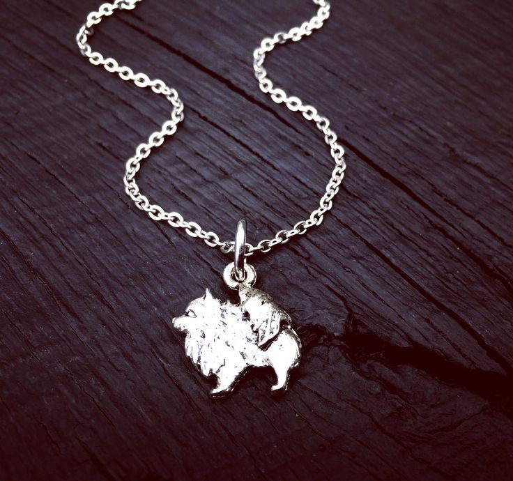 Pomeranian Charm Necklace | Pomeranian Jewelry | Jewelry Gift For Pomeranian Lover | Pomeranian Rescue And Foster | Transport & Adoption by SecretHillStudio on Etsy https://www.etsy.com/listing/517760293/pomeranian-charm-necklace-pomeranian