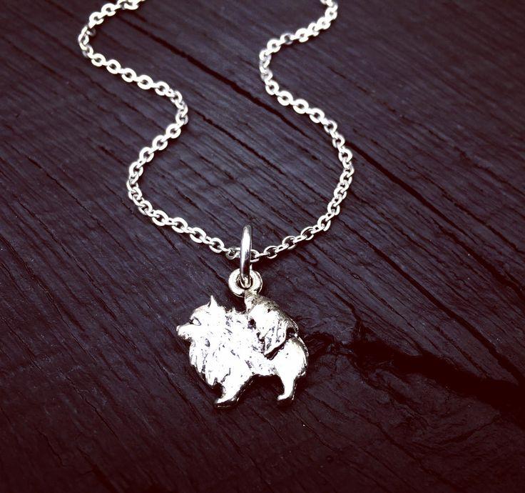 Pomeranian Charm Necklace | Pomeranian Jewelry | Jewelry Gift For Pomeranian Lover | Pomeranian Rescue And Foster | Transport & Adoption by SecretHillStudio on Etsy https://www.etsy.com/listing/517760293/pomeranian-charm-necklace-pomeranian