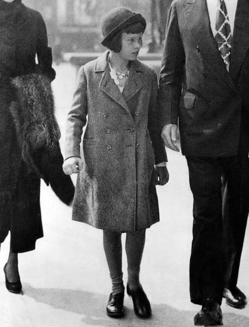 Gloria Vanderbilt, at ten years old, circa 1934