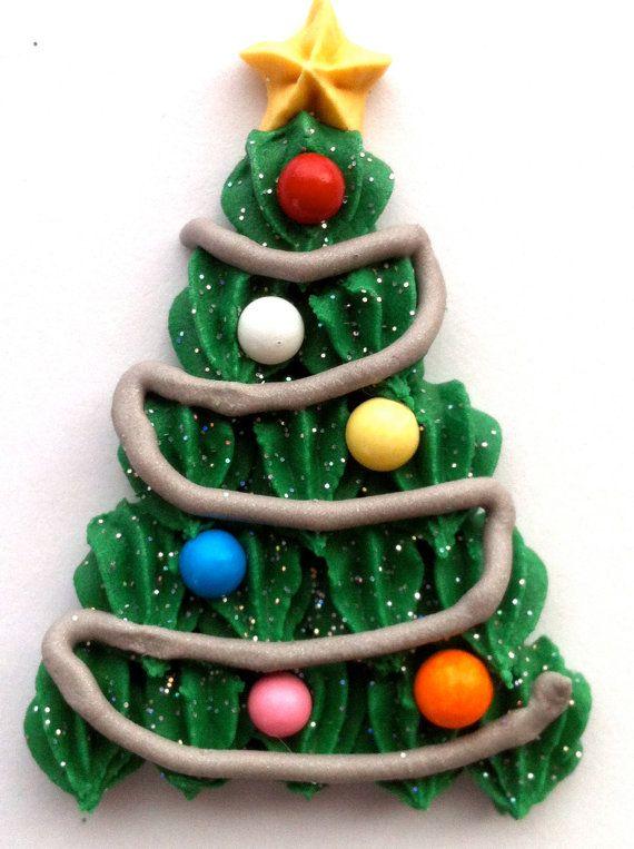 Christmas Tree Cupcake Toppers