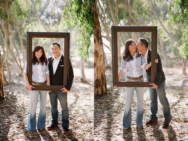 senior photo props ideas - Engagement photo frame It s A Op