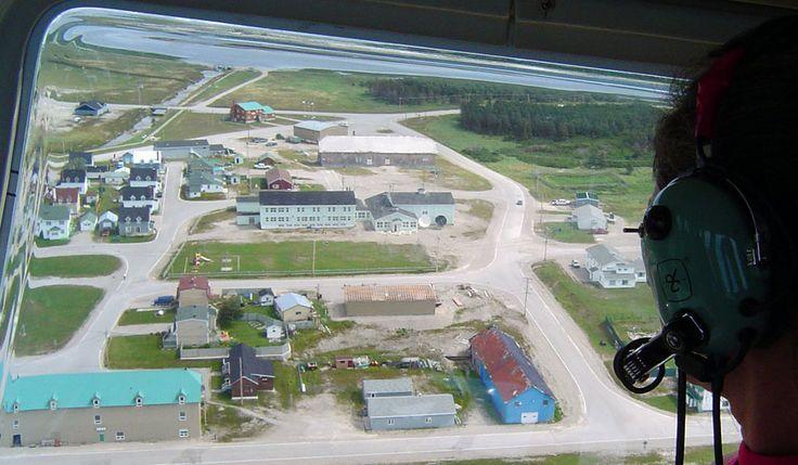 Accès à l'île - Port Menier, Île Anticosti, Québec