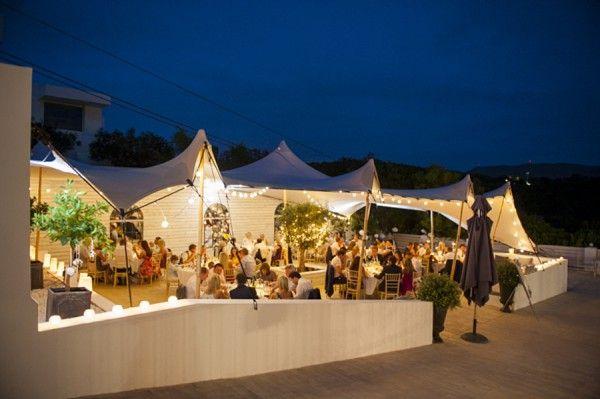 Classic Ibiza Wedding in Purple