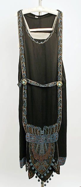 Evening dress Design House: Callot Soeurs  (French, active 1895–1937) Date: 1924–25 Culture: French Medium: silk
